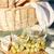 wijnglas · druiven · mand · houten · geïsoleerd · witte - stockfoto © dolgachov