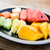 ananas · fruits · tranches · isolé · blanche - photo stock © dolgachov