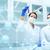genetik · mühendislik · bilim · adamları · laboratuvar · test - stok fotoğraf © dolgachov