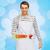 felice · maschio · chef · cuoco · mestolo - foto d'archivio © dolgachov