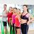 persone · gruppo · gomma · fitness · sport · formazione - foto d'archivio © dolgachov
