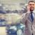 улыбаясь · Hispanic · бизнесмен · говорить · телефон · красивый - Сток-фото © dolgachov