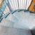 lépcső · étterem · sötét · fekete · korlát · fal - stock fotó © dolgachov