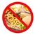 hambúrguer · atrás · não · símbolo · fast-food - foto stock © dolgachov