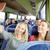 kadın · seyahat · otobüs · taşıma - stok fotoğraf © dolgachov