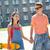 十代の · カップル · 街 · 夏 · 休日 - ストックフォト © dolgachov