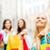 csoport · barátok · élvezi · vásárlás · boldog · gyönyörű - stock fotó © dolgachov