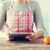 closeup of woman reading recipe from tablet pc stock photo © dolgachov