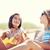 счастливым · женщины · бутылок · питьевой · пляж · Летние · каникулы - Сток-фото © dolgachov