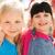 groep · gelukkig · kinderen · kinderen · speeltuin · zomer - stockfoto © dolgachov