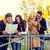 group of friends with map and camera outdoors stock photo © dolgachov