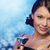 uśmiechnięta · kobieta · cocktail · party · napojów · wakacje · luksusowe - zdjęcia stock © dolgachov