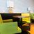 restaurant interior with tables and chairs stock photo © dolgachov