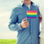 мужчины · гей · пару · радуга - Сток-фото © dolgachov