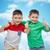 chłopca · jak · twarz · dziecko · tle - zdjęcia stock © dolgachov