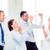 equipo · de · negocios · victoria · oficina · negocios · éxito - foto stock © dolgachov