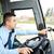 autobús · conductor · dirección · GPS · transporte · transporte - foto stock © dolgachov