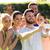 wesoły · młodych · sportowiec · telefonu · komórkowego · stałego - zdjęcia stock © dolgachov