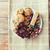close up of candies chocolate muesli and cookies stock photo © dolgachov