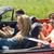 человека · смартфон · вождения · кабриолет · автомобилей - Сток-фото © dolgachov
