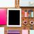 közelkép · tanszerek · táblagép · oktatás · művészet · kreativitás - stock fotó © dolgachov