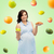 feliz · mulher · grávida · maçã · croissant · gravidez · alimentação · saudável - foto stock © dolgachov
