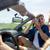adam · kadın · sürücü · araba · film - stok fotoğraf © dolgachov