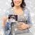 счастливым · беременная · женщина · ультразвук · изображение · домой · беременности - Сток-фото © dolgachov