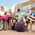 szkoła · podstawowa · studentów · piśmie · notebooki · podstawowy · edukacji - zdjęcia stock © dolgachov