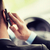 男 · 話し · 携帯電話 · 運転 · 車 · 電話 - ストックフォト © dolgachov