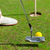 man · golf · afbeelding · mannelijke · golfbal · gat - stockfoto © dolgachov