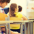 скучно · дети · детей · ребенка · волос · синий - Сток-фото © dolgachov