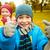 vidám · fiú · mutat · remek · gyermekkor · kézmozdulat · utazás - stock fotó © dolgachov