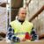 férfi · tükröződő · mentőmellény · raktár · nagybani · eladás · emberek - stock fotó © dolgachov