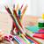 materiały · biurowe · przybory · szkolne · tabeli · edukacji · sztuki - zdjęcia stock © dolgachov