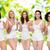groep · gelukkig · verschillend · vrouwen · vieren · overwinning - stockfoto © dolgachov