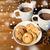 csészék · forró · csokoládé · mályvacukor · sütik · ünnepek · karácsony - stock fotó © dolgachov
