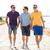 grupo · amigos · caminhada · praia · verão · férias - foto stock © dolgachov