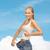женщину · большой · брюки · фитнес - Сток-фото © dolgachov