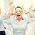 gritando · empresária · mulher · trabalhar · estúdio - foto stock © dolgachov