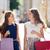 счастливым · женщины · ходьбе · город · продажи - Сток-фото © dolgachov