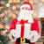 Weihnachten · dekoriert · Kamin · Baum · Zimmer · Loft - stock foto © dolgachov