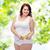 幸せ · 小さな · プラスサイズ · 女性 · 巻き尺 - ストックフォト © dolgachov