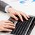 ビジネスマン · 入力 · ノートパソコン · キーパッド · クローズアップ · 手 - ストックフォト © dolgachov