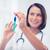 feminino · médico · seringa · injeção - foto stock © dolgachov
