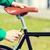 sabit · dişli · bisiklet · adam - stok fotoğraf © dolgachov