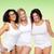 группа · счастливым · Плюс · размер · женщины · белый · белье - Сток-фото © dolgachov