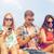 カップル · スマートフォン · 通り · 肖像 · 幸せ · スマートフォン - ストックフォト © dolgachov