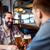 dos · hombres · hablar · cerveza · bar · hombres · pub - foto stock © dolgachov