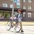 jonge · man · vast · versnelling · fiets · mensen - stockfoto © dolgachov